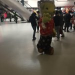 Hello from the Zodiac Horse at Macau Ferry Terminal