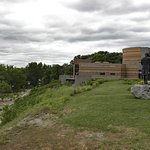 Visitors Center and Statue
