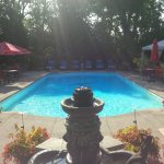 Our pool , a wonderful day to sepnd the day