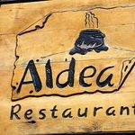 Aldea is a small, cozy place