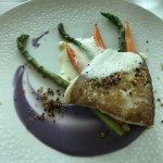 The fish entree offered as part of the $38 Prix Fixe Lunch