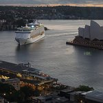 Voyager of the Seas arriving at Circular Quay