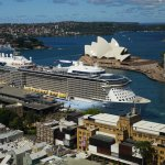 Ovation of the Seas in Circular Quay