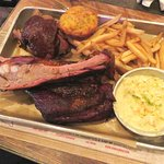 Pick 2 BBQ Combo at Virgil's Real BBQ in NYC (15/Feb/18).