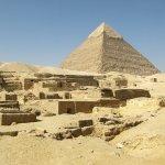 Khafre, the second pyramid