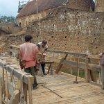 aménagement d'un pont levis