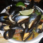 interesting spicy mussels