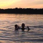 Best Part, swimming in Amazon bowel.
