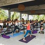 New Yoga Shala :)