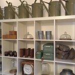 Garden shop open selling brocante and garden giftware