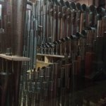 Some of St Fin Barre's organ pipes