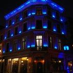 Vue de nuit en bleu