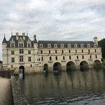 Chateau Chenonceau straddling the River Cher
