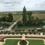 The gardens at Cheateau D'Usse