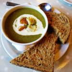 Their 'super green soup'