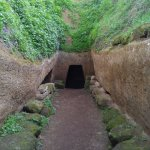 Bike excursion to Cerveteri - Etruscan city one of the largest at its time.