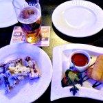 Гренки и сырные палочки