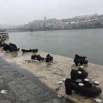 Photo de Promenade des Chaussures sur le Danube