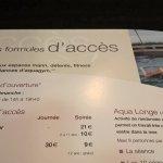 9€ pour l'accès à la piscine