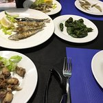 Chiperones, sardinas, padrons