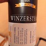 Recebemos essa garrafa de vinho como presente do hotel. Muito bom!