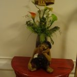 Vase rigolo du palier 3ème Etage