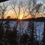 Beautiful sunsets over Lake Minocqua