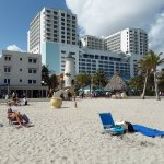 Hotel Sheldon on Left; Margaritaville on Right