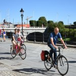 Stockholm offers great bike paths