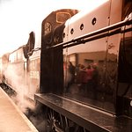Steam train that takes you back in time
