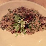 "The Elm tree ""mushroom risotto"""