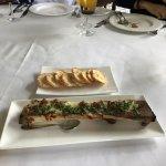 Grilled bulalo (bone marrow)