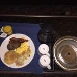 Room service, breakfast.