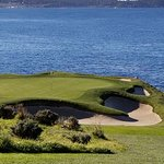 페블 비치 골프 코스의 사진