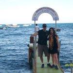 El atardecer en la playa grande de Positano