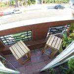 Balcon con vista a calle 21