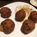 Meatballs - good texture and flavor (but not hot)