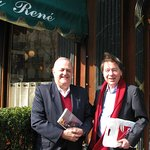 Mars 2017, avec le célèbre historien (et ancien Ministre) Jean-Noël Jeanneney