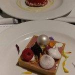 Chocolate Mousse / Raspberry Tart