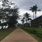 Walking path between the resort and the beach!!