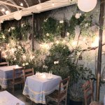 A photo of the garden dining room. Make sure you request a table in this section. Very pretty!