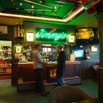 Inside Jimmy's Bar