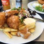 Yum, blue cod!!
