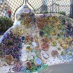 turtle mosaic in courtyard