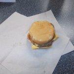Double cheeseburger slider
