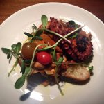 Grilled Octopus & Chorizo Caponata Appetizer