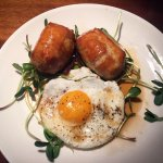 Pork Belly & Egg Wellington Appetizer