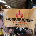 Photo de The Carnivore Restaurant