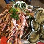Plateaux de fruits mer pour 2 personnes ...super frais ...un régal.