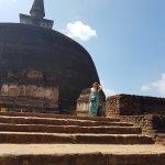 Ancient stupa of Sri Lanka